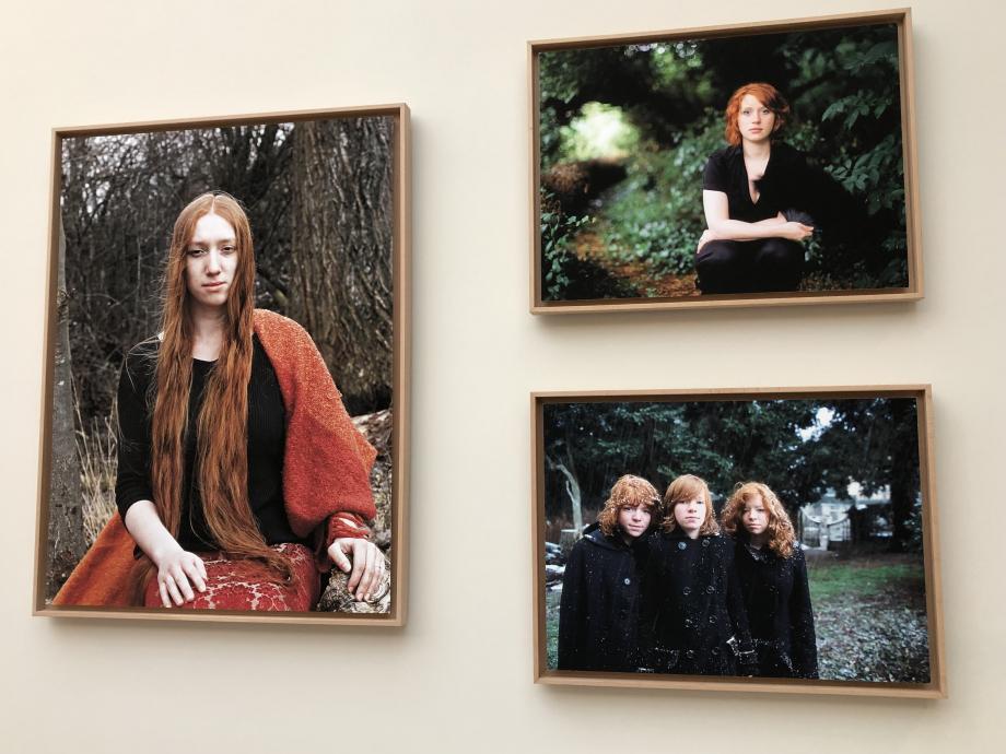 Photos de Geneviève Boutry Lauriane, Emma, les trois soeurs