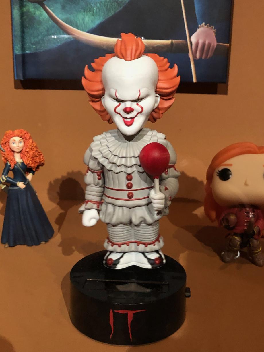 l'affreux clown de
