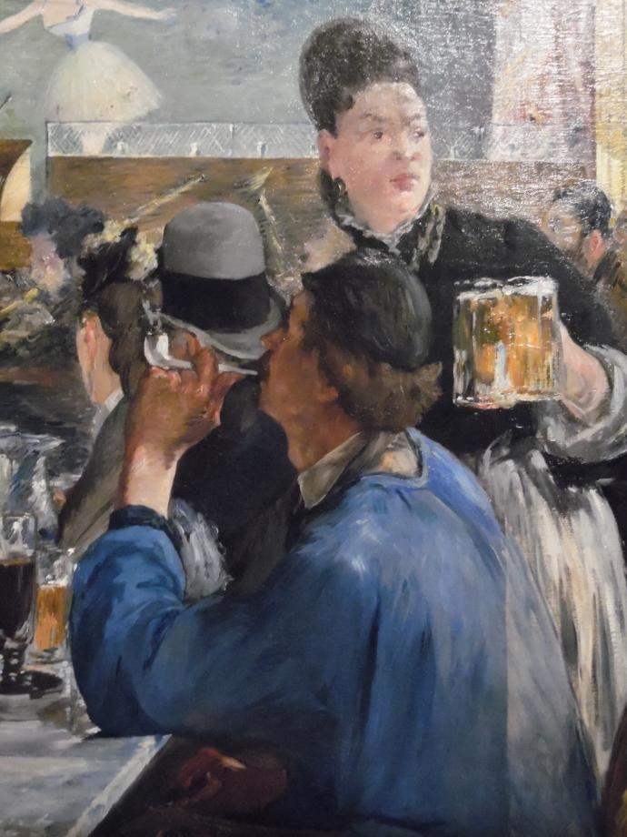 Edouard Manet Coin de café-concert vers 1878 1880 The National Gallery - Londres