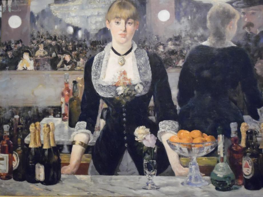 Edouard Manet Un bar aux Folies-Bergère, 1882