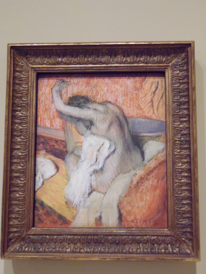Edgar Degas Après le bain, femme se séchant, vers 1895 1900