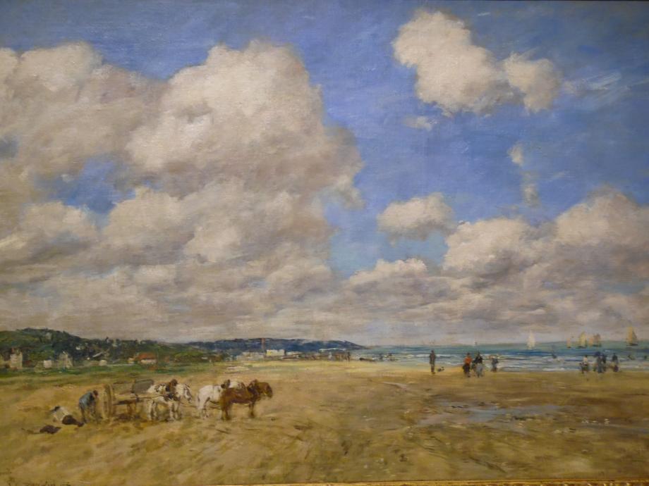 Eugène Boudin Deauville, 1893