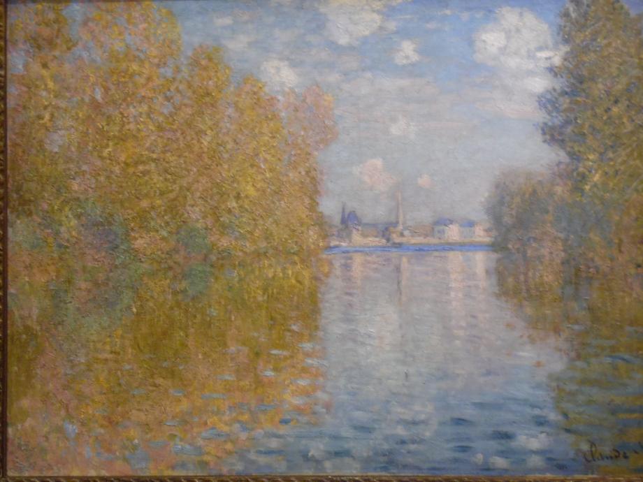 Claude Monet Effet d'automne à Argenteuil, 1873