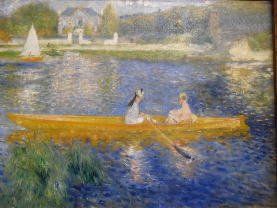 Pierre Auguste Renoir La Yole, 1873 The National Gallery, Londres