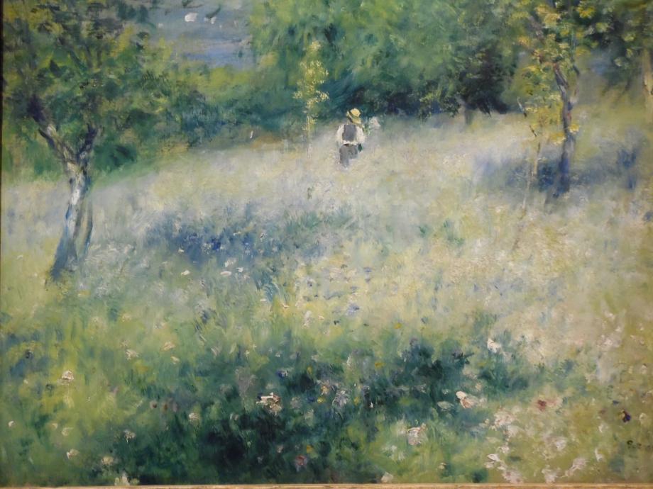 Pierre Auguste Renoir Le printemps, Chatou, 1873 Collection particulière du vert, du vert !