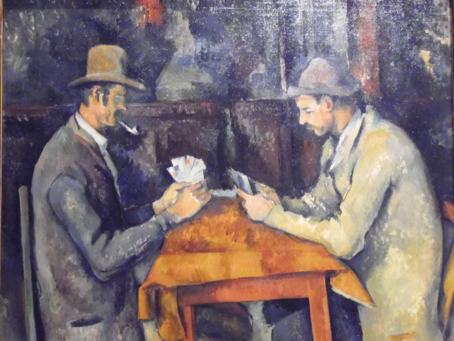 Paul Cézanne Les joueurs de cartes, vers 1892 1896