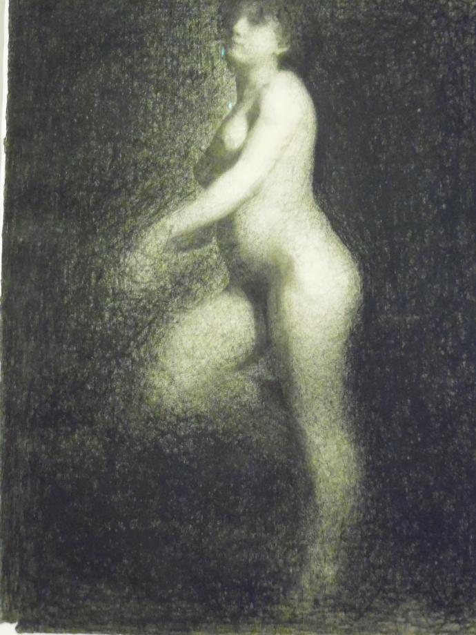 Georges Seurat Nu féminin, vers 1879 1881