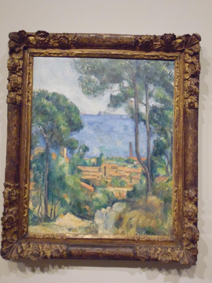 Paul Cézanne Vue sur l'Estaque et le Château d'If, vers 1883 1885 Collection particulière