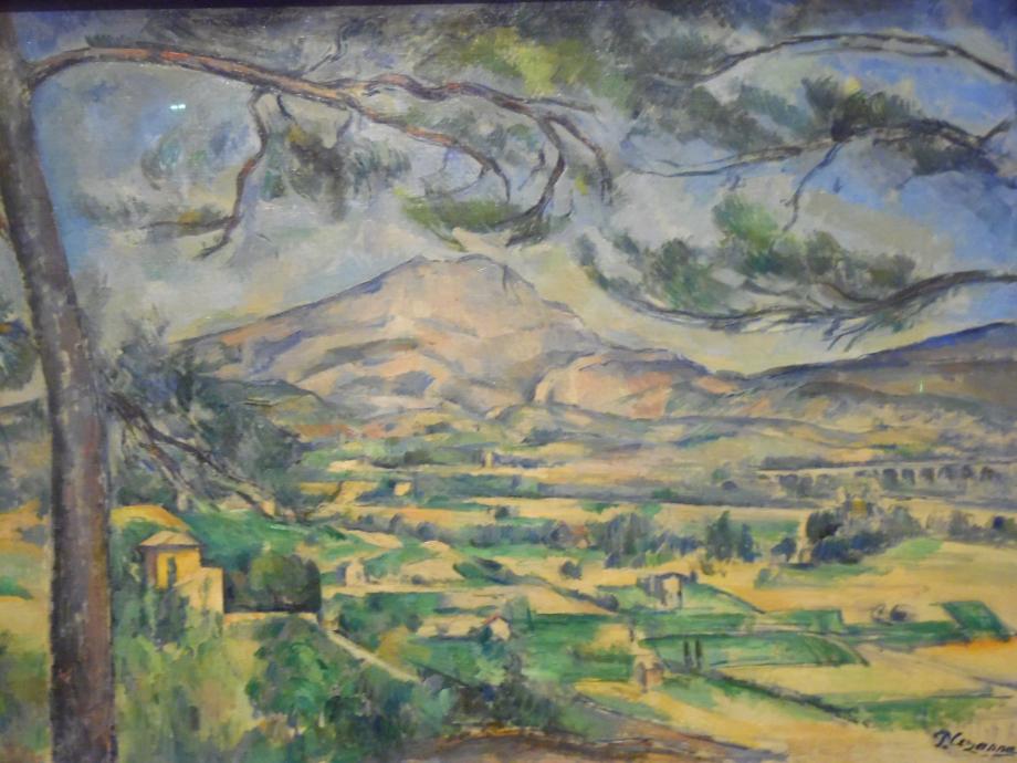 Paul Cézanne La montage Sainte Victoire