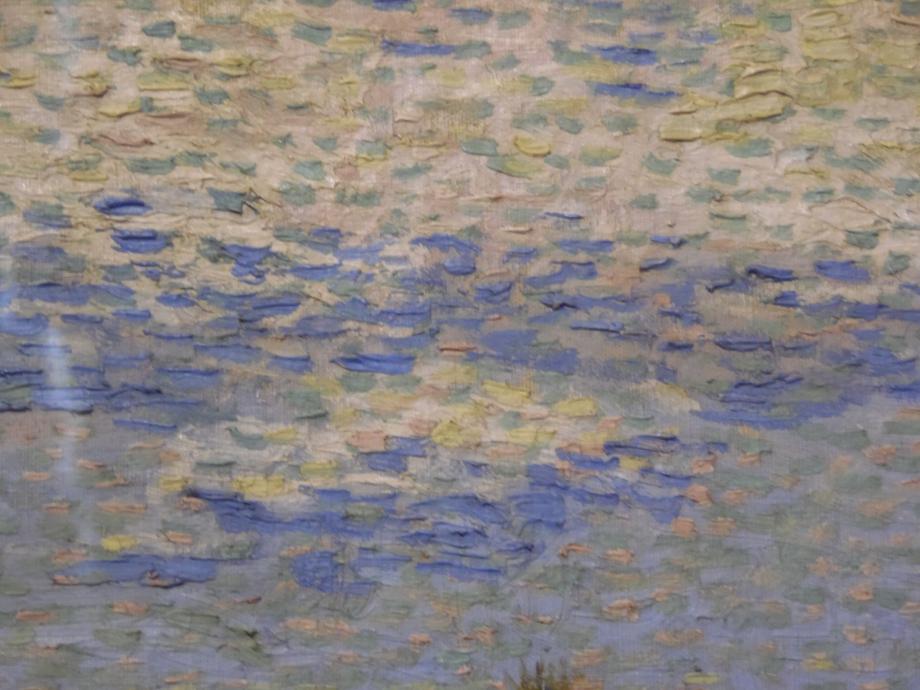 les nuages par Vincent Van Gogh (détail du tableau précédent)