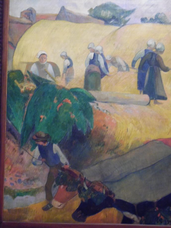 Paul Gauguin Les meules, 1889