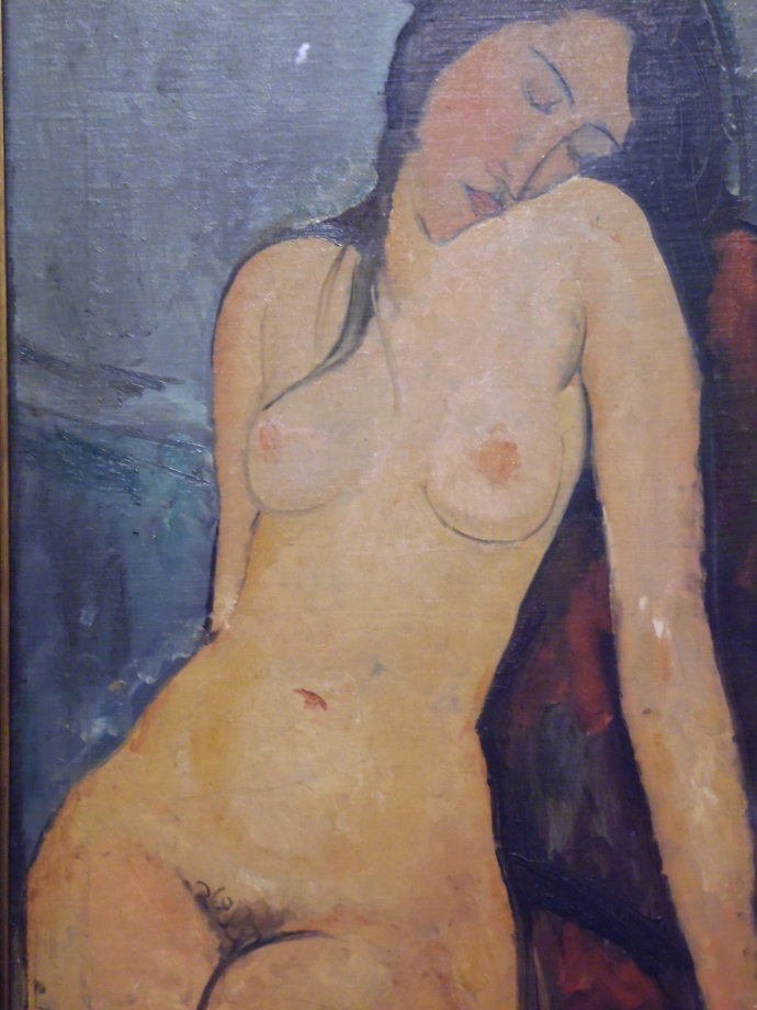 Amadéo Modigliani Nu féminin, vers 1916