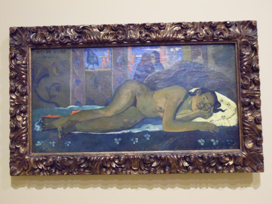 Paul Gauguin Nevermore, 1897