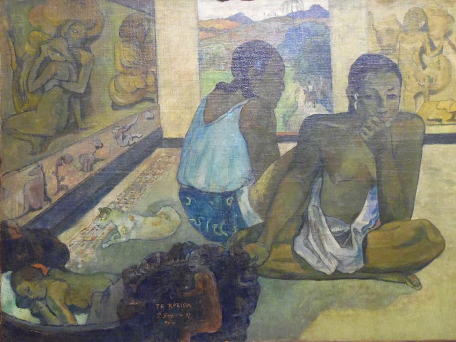 Paul Gauguin Te Rerioa, 1897