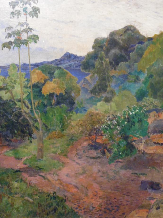 Paul Gauguin Paysage de la Martinique, 1887