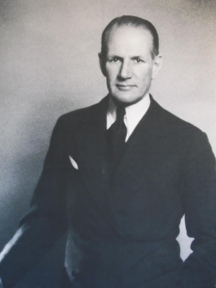 Portrait de Samuel Courtauld
