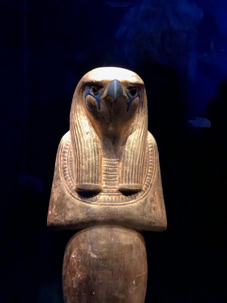 Statue en bois de Horsemsou (Horus l'ancien)