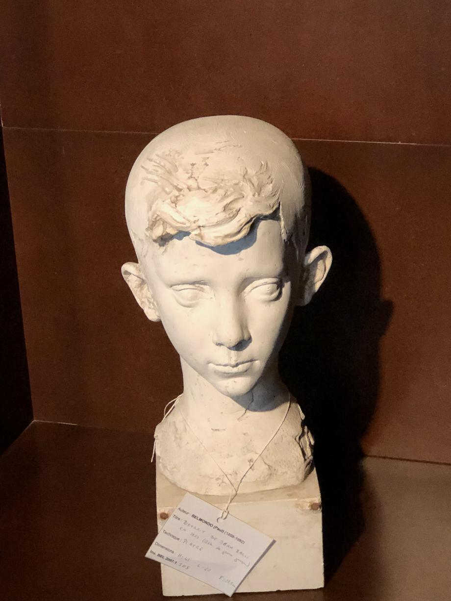 Portrait de Jean-Paul 1939 Plâtre