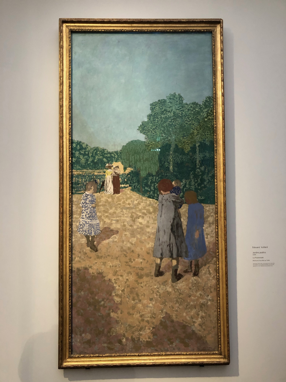 Edouard Vuillard - Jardins publics - 1894 - The museum of fine arts, Houston, USA