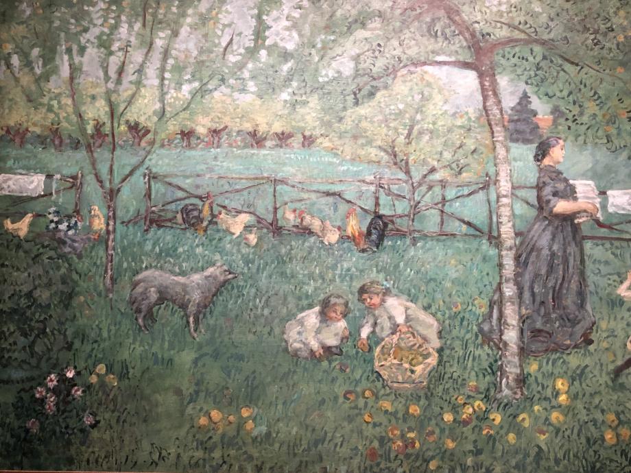 Pierre Bonnard Le grand jardin vers 1895 Musée d'Orsay