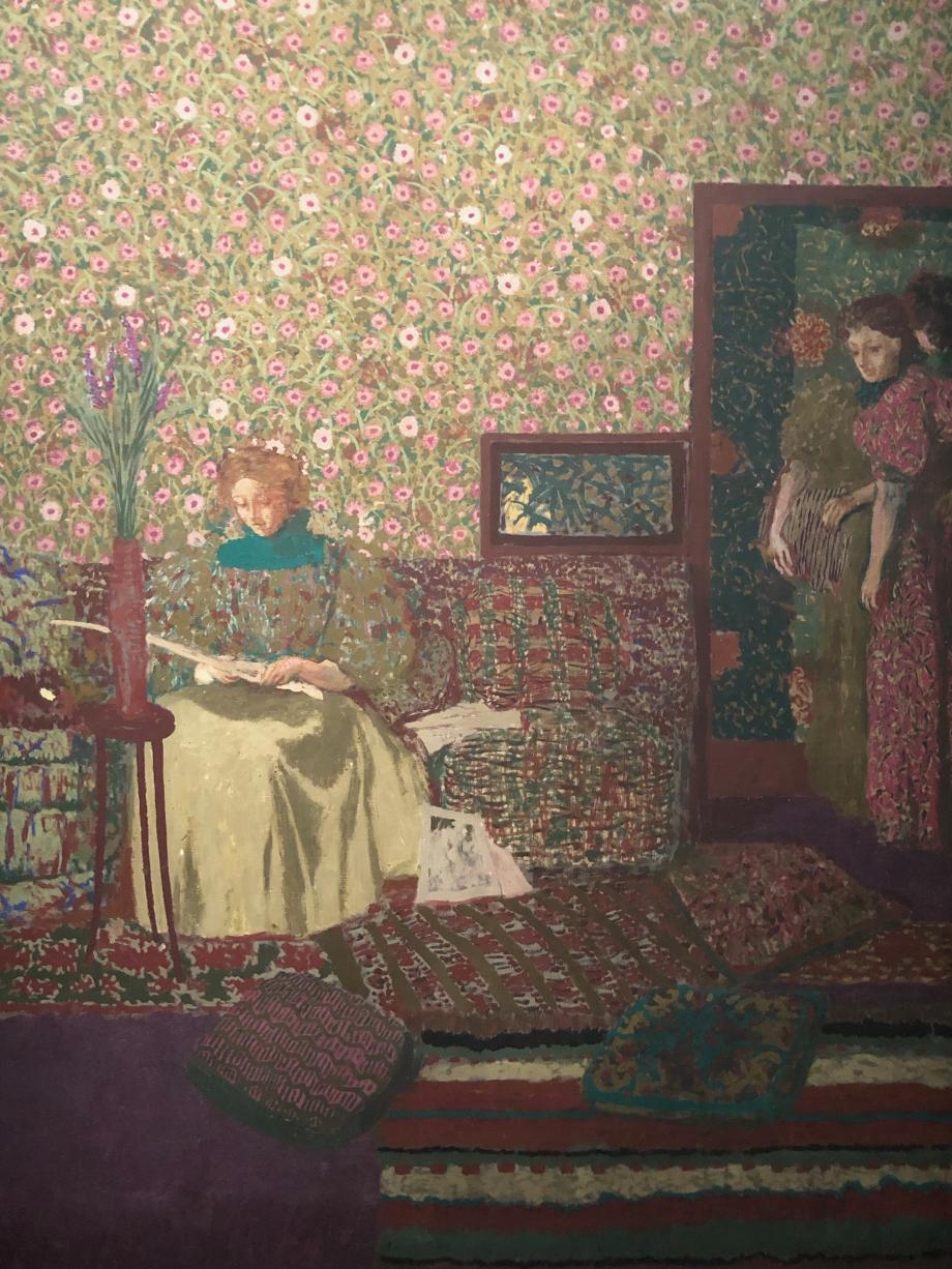Edouard Vuillard Personnes dans un intérieur 1896 L'intimité Petit Palais