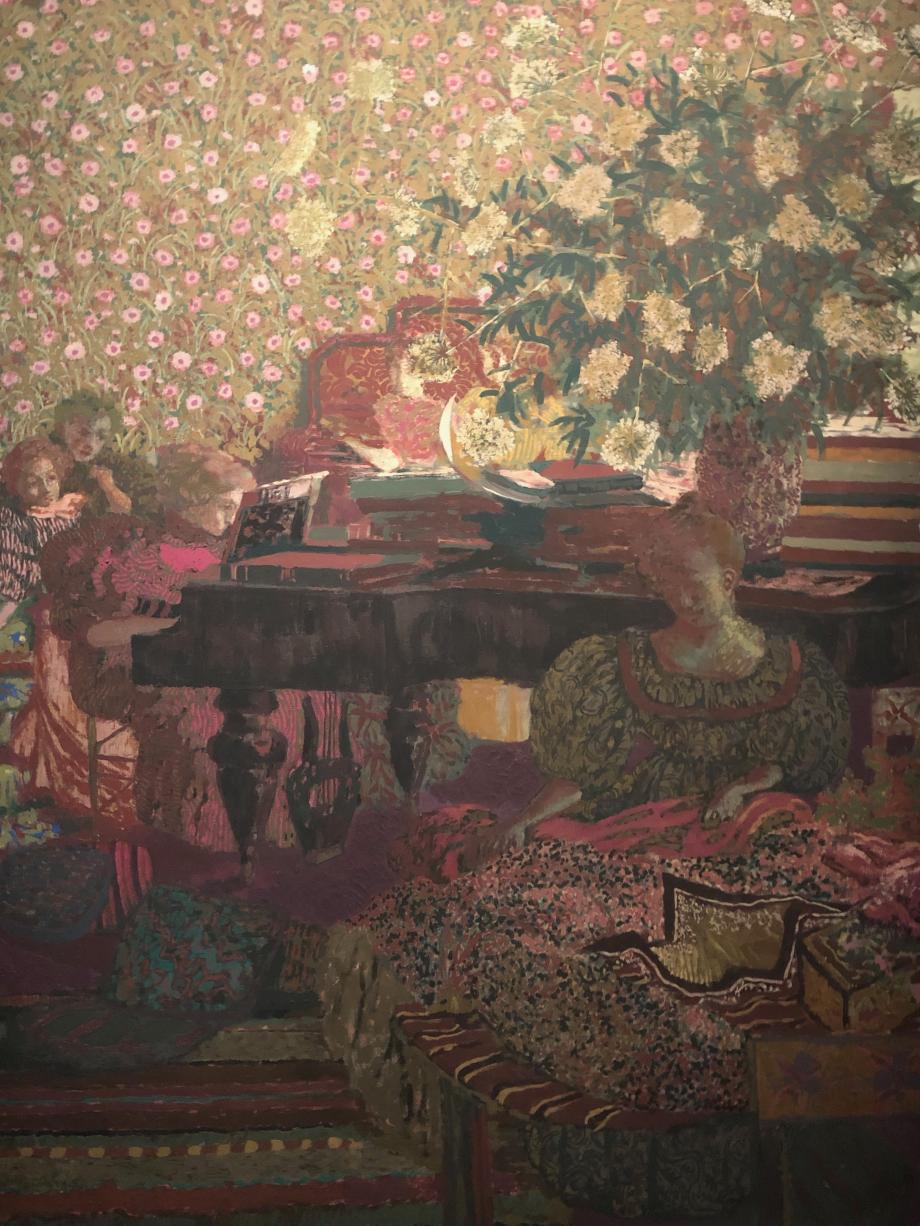 Edouard Vuillard Personnes dans un intérieur 1896 La musique Petit Palais