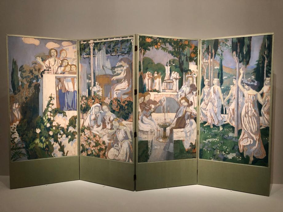 Maurice Denis L'Eternel Eté : le chant choral, l'orgue, le quatuor, la danse 1905 Musée d'Orsay