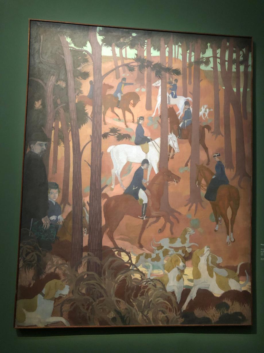 Maurice Denis La légende de Saint Hubert Le défaut 1897 Musée départemental Maurice Denis, Saint-Germain-En-Laye