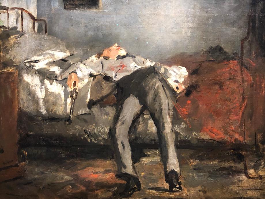 Edouard Manet Le Suicidé vers 1877