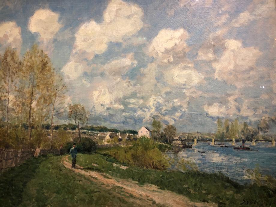 Alfred Sisley Eté à Bougival 1876