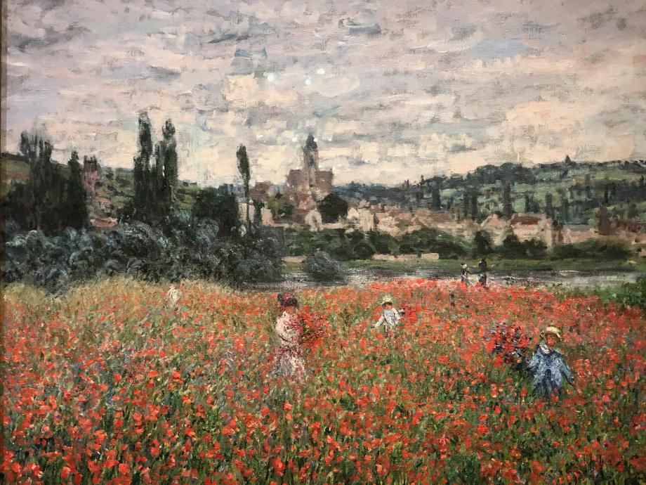 Claude Monet Champ de coquelicots, près de Vetheuil vers 1879