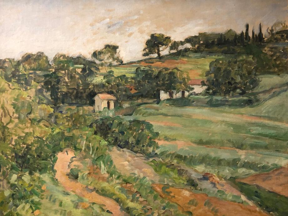 Paul Cézanne Paysage Vers 1879
