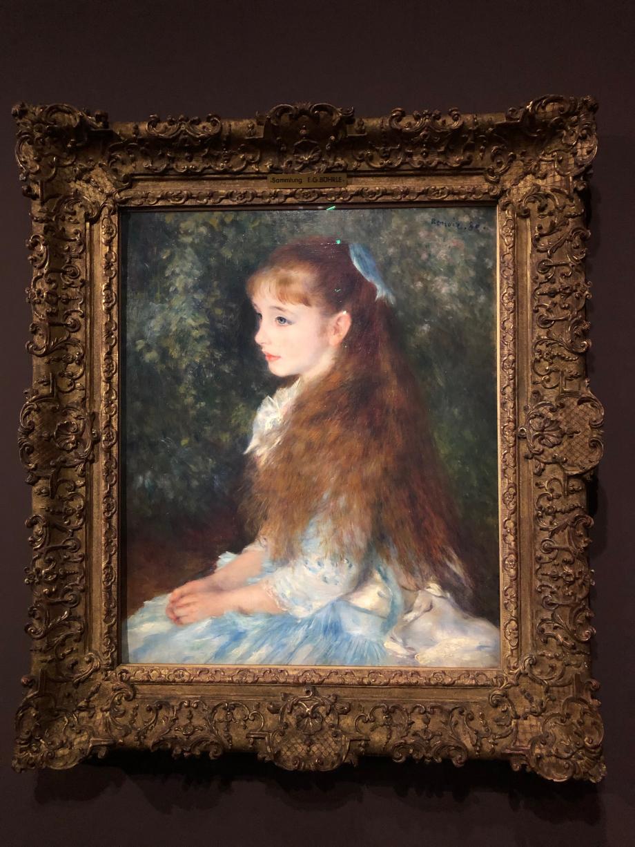 Auguste Renoir Portrait de Mademoiselle Irène Cahen d'Anvers (la petite Irène) 1880