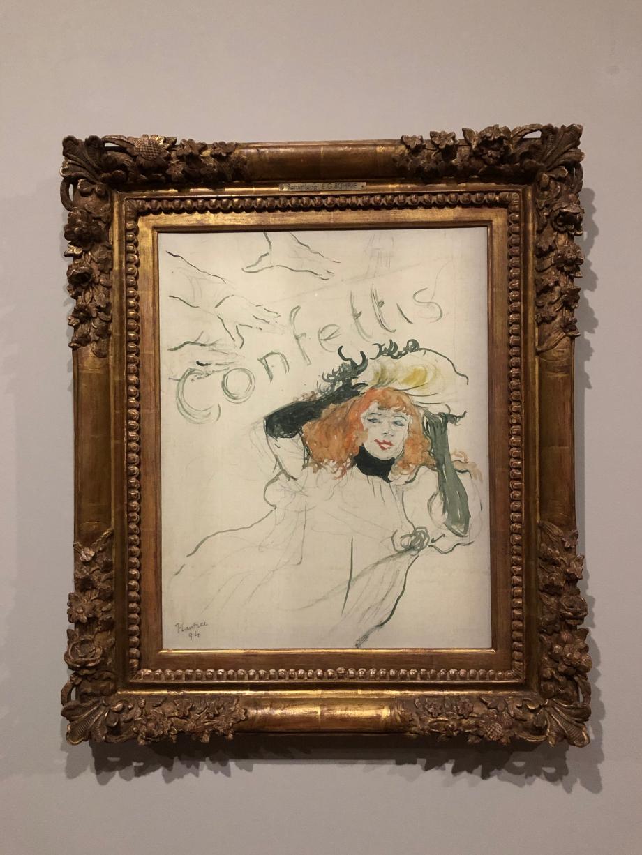 Henri de Toulouse-Lautrec Confettis 1893