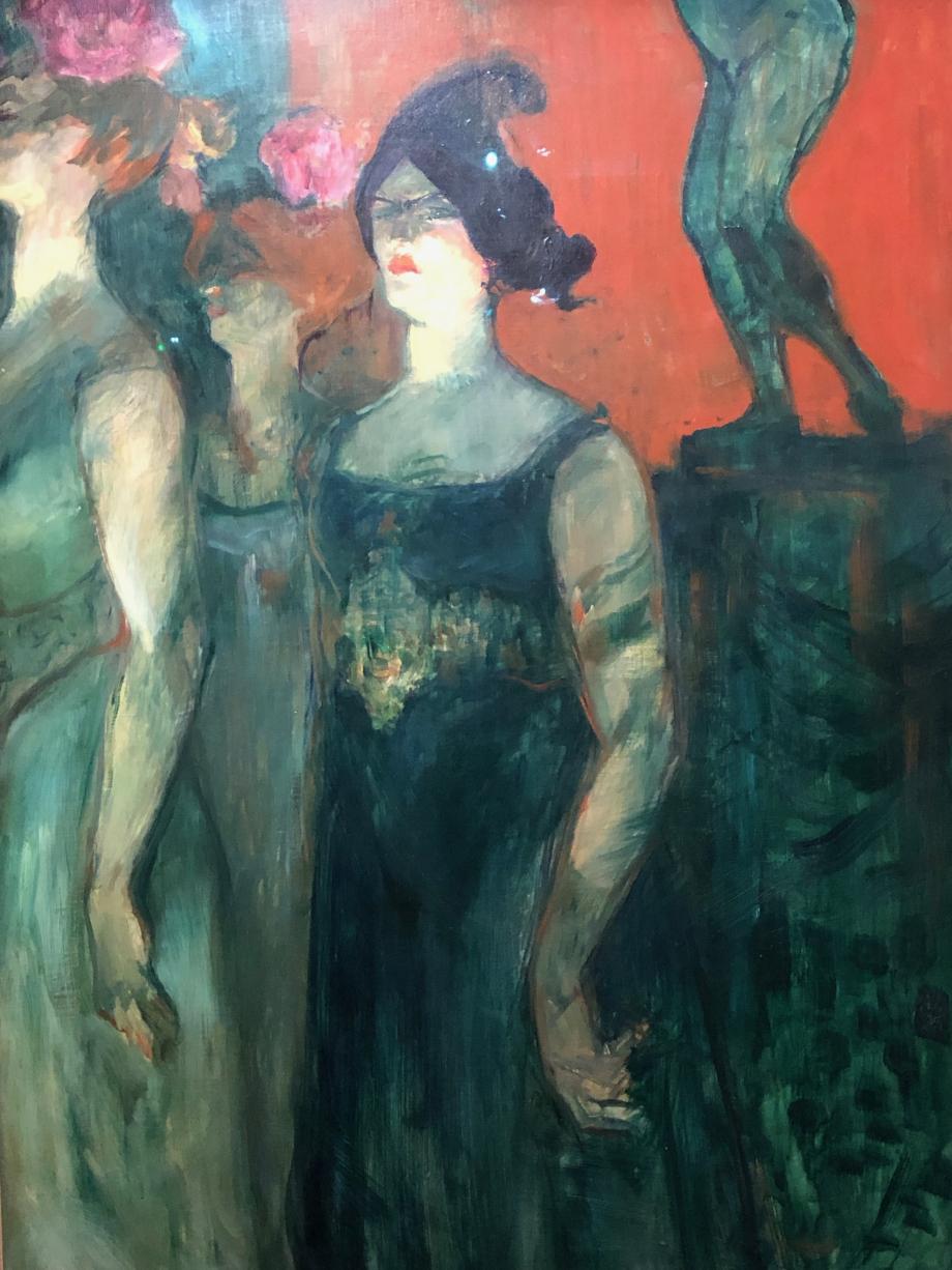 Henri de Toulouse-Lautrec Messaline 1900/01