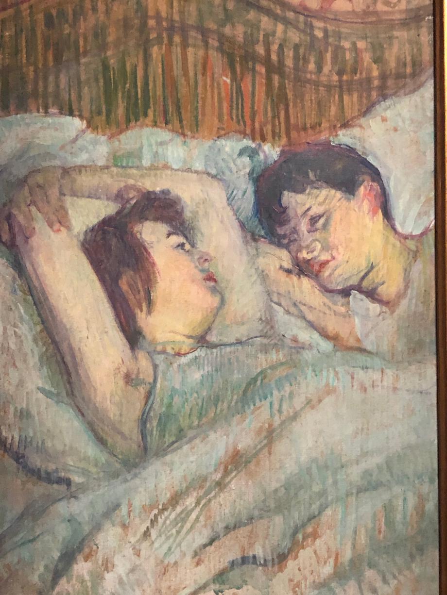 Henri de Toulouse-Lautrec Au lit 1892