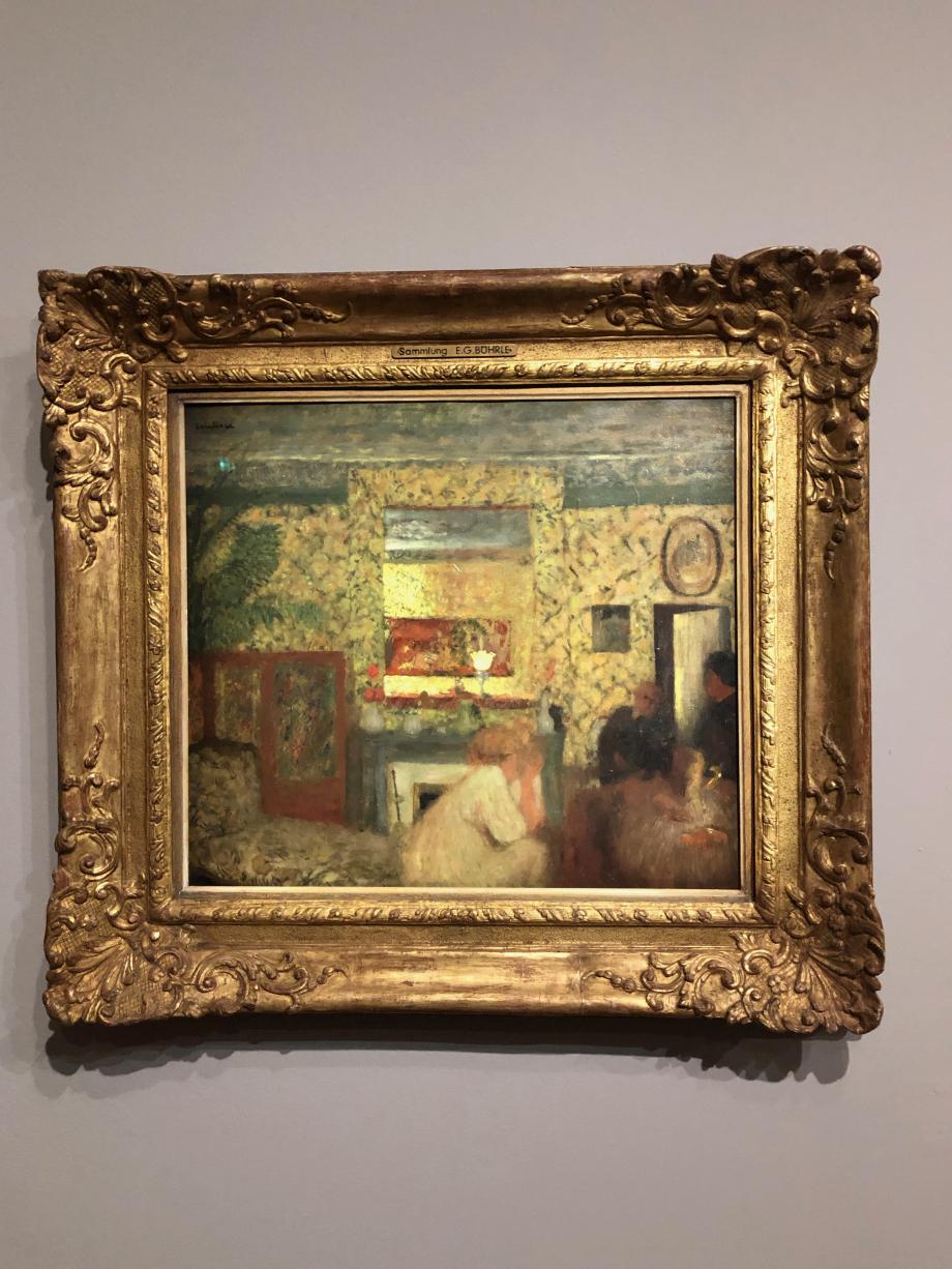 Edouard Vuillard Le Salon des Natanson, rue Saint-Florentin 1897/98