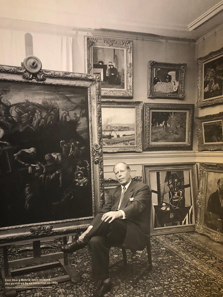 Emil Bührle en 1954