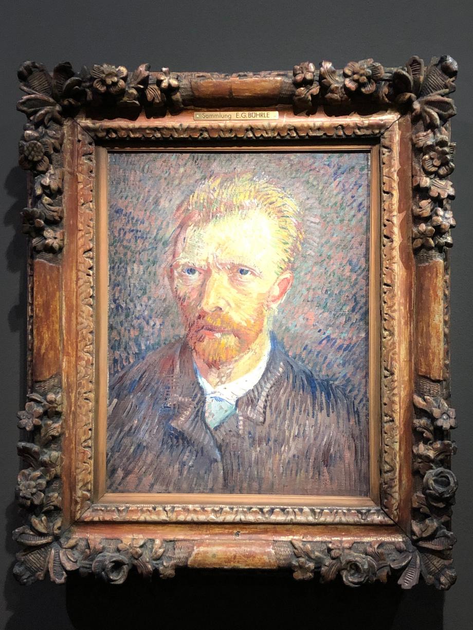 Vincent Van Gogh Autoportrait 1887