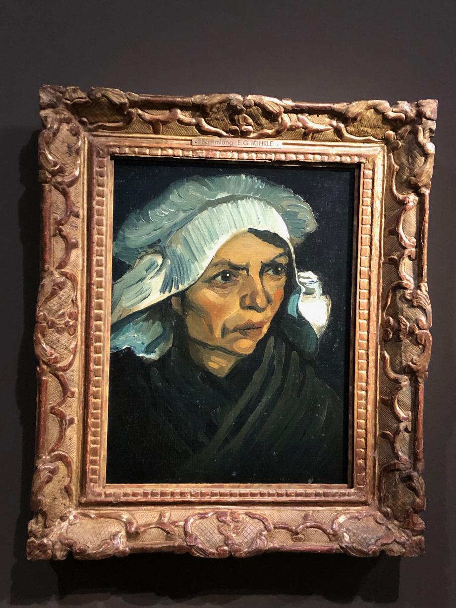 Vincent Van Gogh Tête de Paysanne 1885