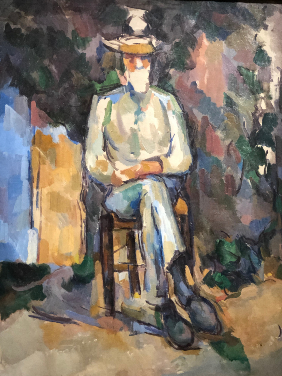 Paul Cézanne Le Jardinier Vallier 1904/06