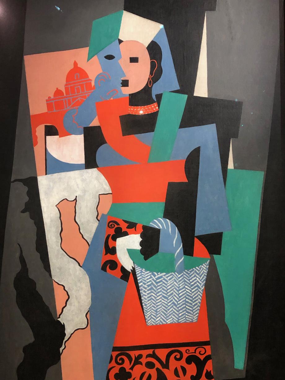 Pablo Picasso L'Italienne 1917 Bührle n'a pas pris conscience tout de suite du l'importance de Picasso jusqu'à une exposition en 1953...