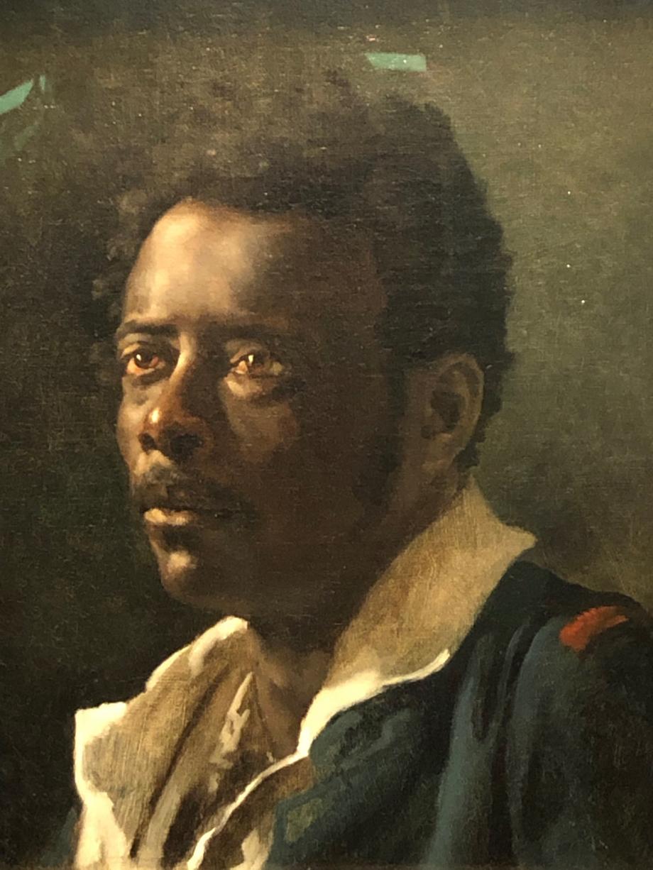 Théodore Géricault Etude d'homme d'après le modèle Joseph dit aussi Le Nègre Joseph vers 1818 1819 J. Paul Getty Museum, Los Angeles