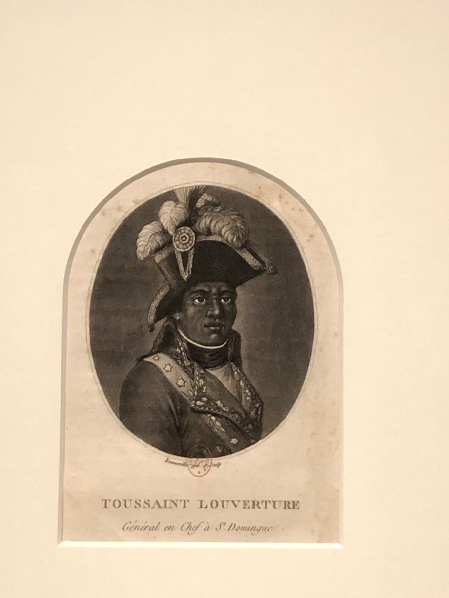 François Bonneville Toussaint Louverture, Général en chef de Saint-Domingue, dans Portraits des personnages célèbres de la Révolution BNF, Paris