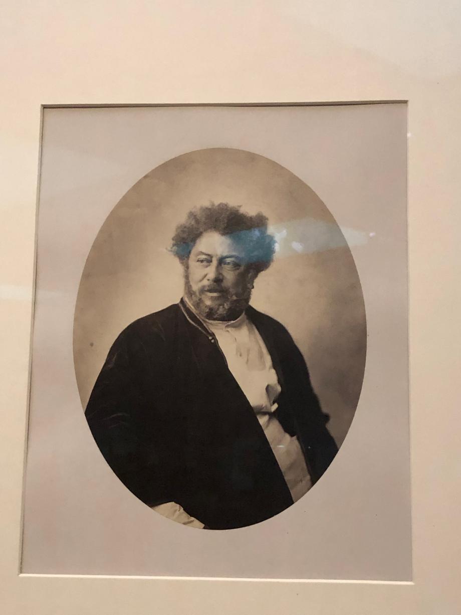 Gustave Le Gray Portrait d'Alexandre Dumas en costume russe 1859 Musée d'Orsay, Paris