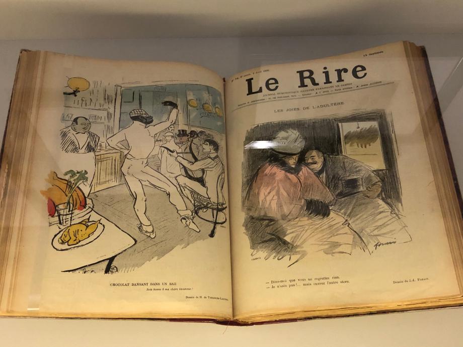 Henri de Toulouse-Lautrec Chocolat dansant dans un bar Le Rire, 28 mars 1896 Bibliothèque du Musée d'Orsay, Paris
