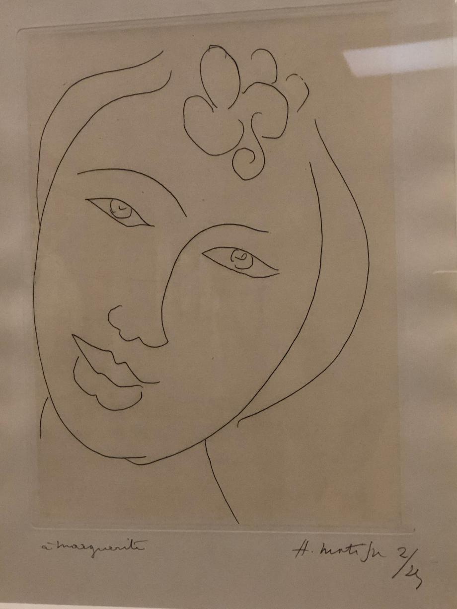 Henri Matisse Martiniquaise Etude pour Les Fleurs du Mal 1946 The Baltimore Museum of Art