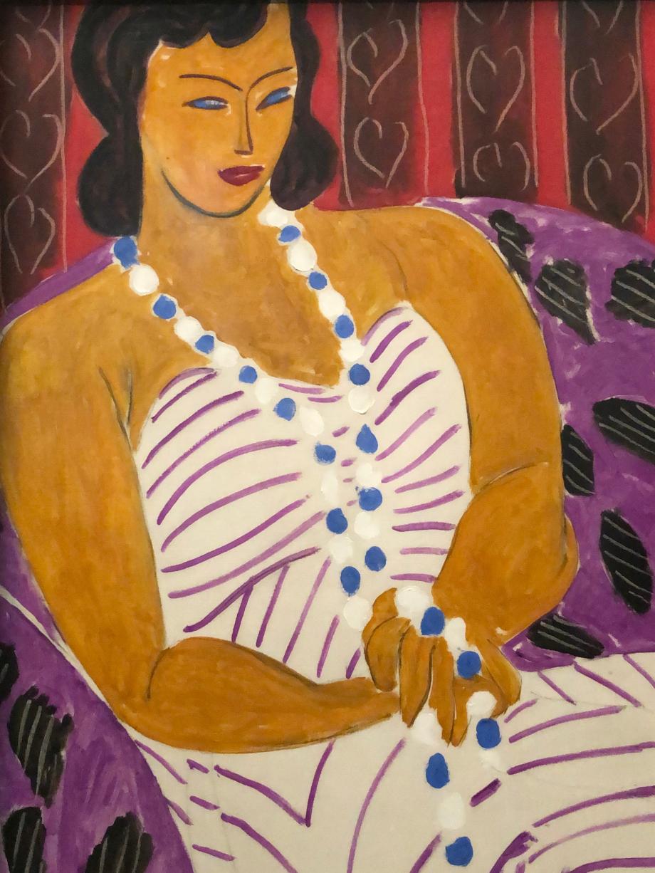 Henri Matisse Dame à la robe blanche (femme en blanc) 1946 Des Moines Art Center