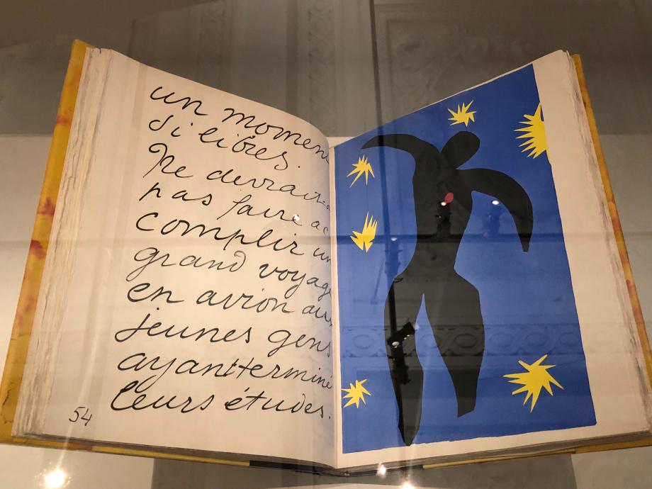Henri Matisse Jazz 1947 BNF, Paris