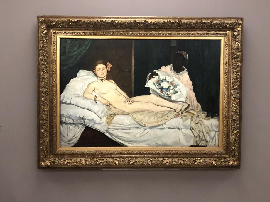 Manet Olympia 1863 Musée d'Orsay, Paris